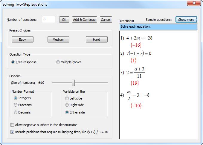 kuta software answers